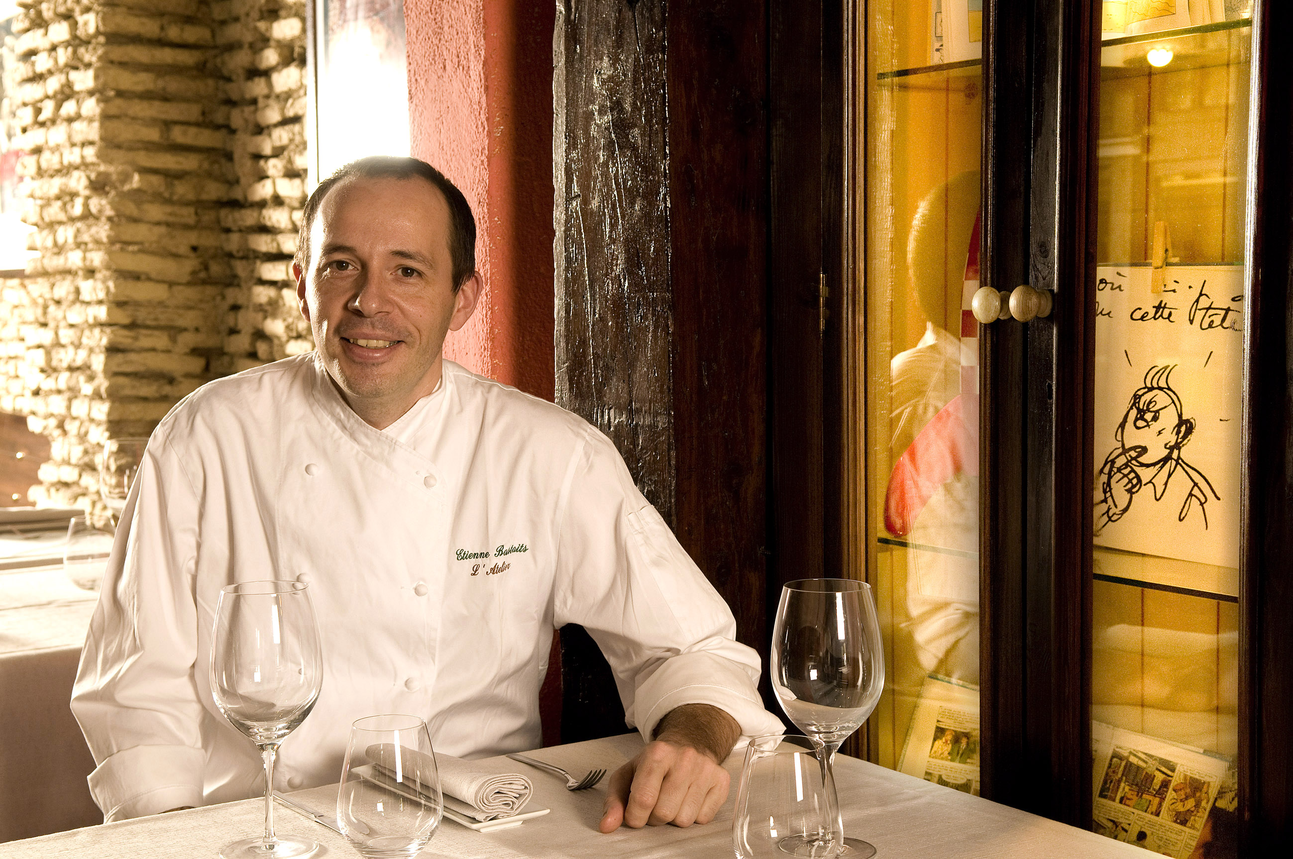 Chef Etienne Bastaits