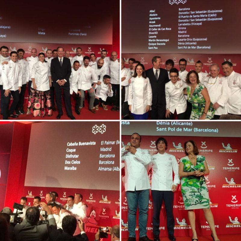 restaurantes españoles con estrellas michelin 2018