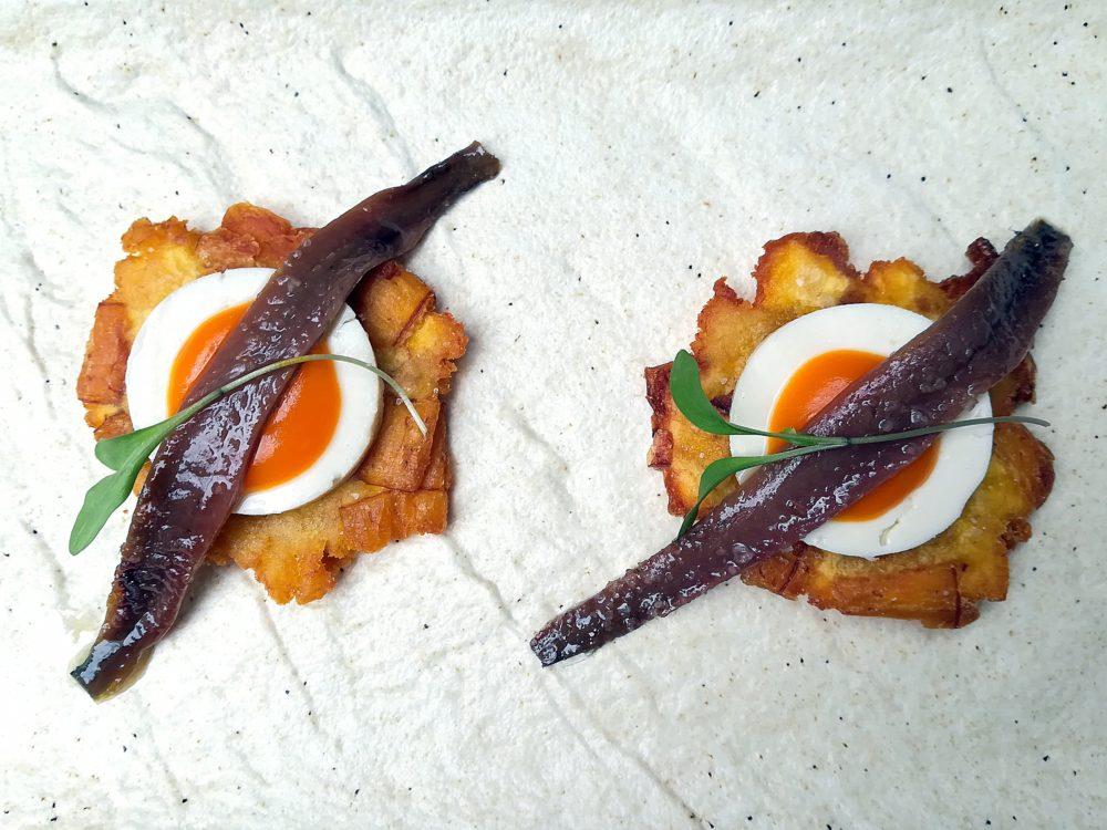 Gilda latina en Janoko, restaurante venezolano en Madrid.